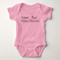 Future: Nun/President/Horse trainer Baby Bodysuit