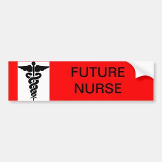 Future Nurse Bumper Sticker Car Bumper Sticker