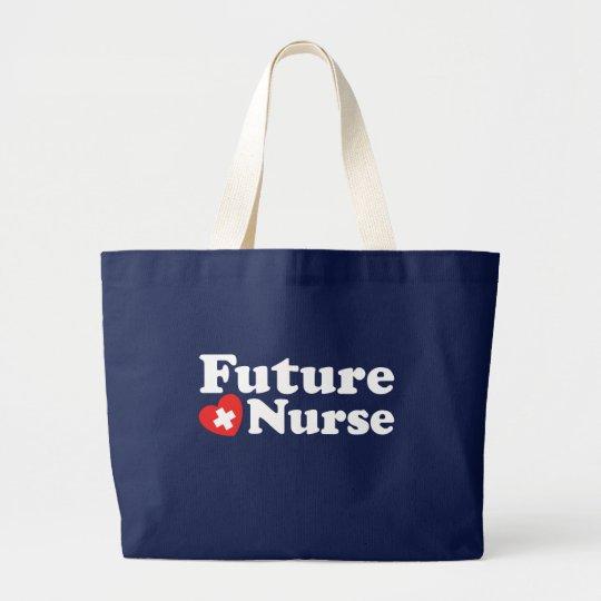 Future Nurse Large Tote Bag