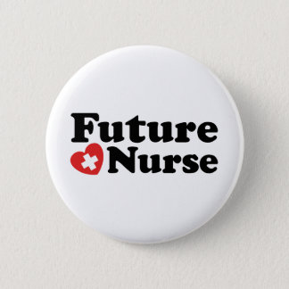 Future Nurse Pinback Button