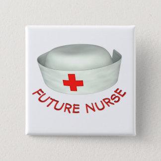Future Nurse Pinback Button