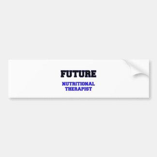 Future Nutritional Therapist Bumper Sticker
