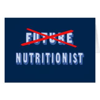 Future Nutritionist No More Card