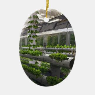 Future Of Farming Ceramic Ornament