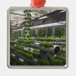 Future Of Farming Metal Ornament