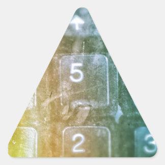 Future of IT Triangle Sticker