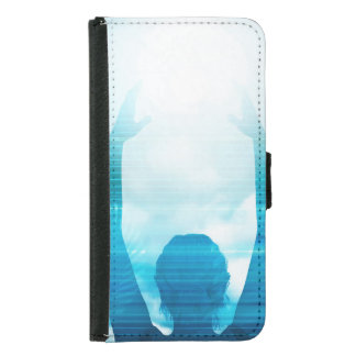 Future of Technology with a Professional Reaching Wallet Phone Case For Samsung Galaxy S5