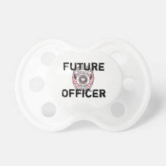 Future Officer Slidell Police Department Baby Paci Pacifier