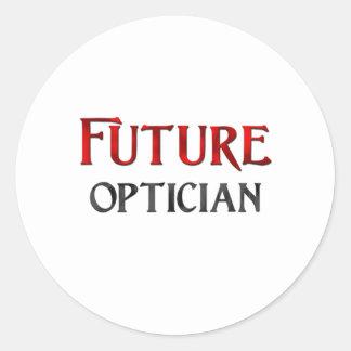 Future Optician Classic Round Sticker
