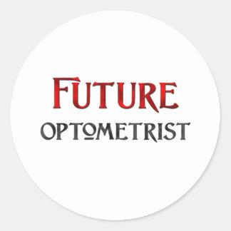 Future Optometrist Classic Round Sticker