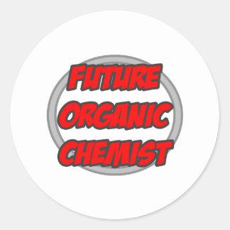 Future Organic Chemist Classic Round Sticker