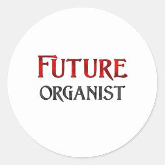 Future Organist Sticker