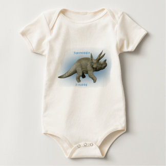 Future Paleontologist boy Baby Bodysuit