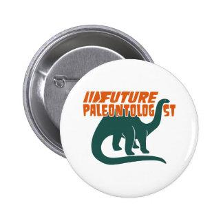 Future Paleontologist Button