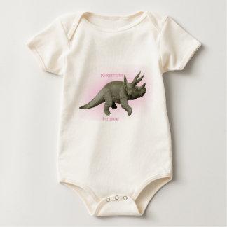Future Paleontologist girl Baby Bodysuit