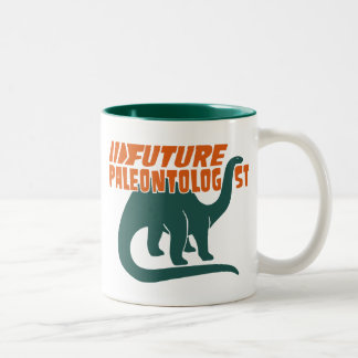 Future Paleontologist Two-Tone Coffee Mug