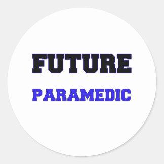 Future Paramedic Classic Round Sticker