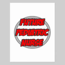 Future Pediatric Nurse Postcard