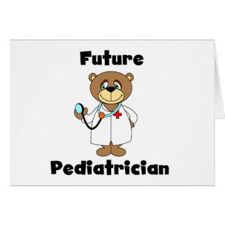 Future Pediatrician Greeting Card