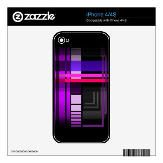 Future Perfect Plaid Decals For The iPhone 4