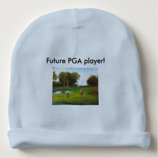 Future PGA player baby beanie
