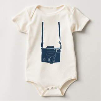 Future Photographer Camera Infant Organic Creeper