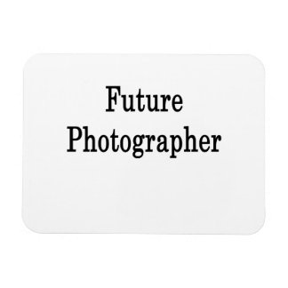 Future Photographer Flexible Magnets
