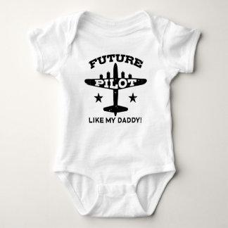 Future Pilot Baby Bodysuit