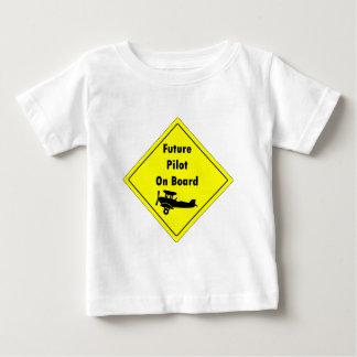 Future Pilot on Board Baby T-Shirt