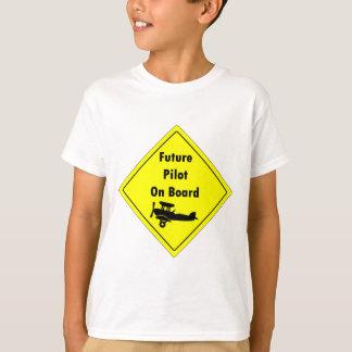 Future Pilot on Board T-Shirt