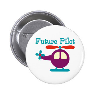 Future Pilot Pinback Button