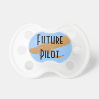 Future Pilot Ultralight Aircraft Baby Pacifier