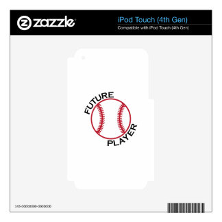 Future Player Decals For iPod Touch 4G