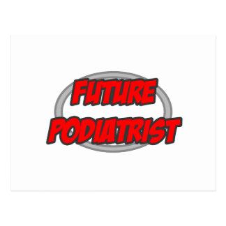 Future Podiatrist Postcard