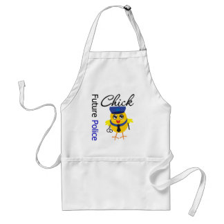 Future Police Chick Aprons