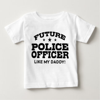 Future Police Officer Baby T-Shirt