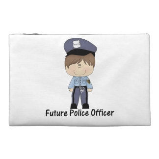 future police officer (boy) travel accessory bag