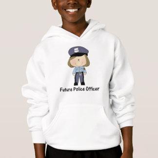future police officer (girl) hoodie
