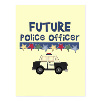 Future Police Officer T-shirts and Gifts Postcard