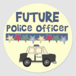 Future Police Officer T-shirts and Gifts Sticker
