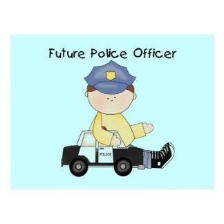 Future Police Officer Tshirts and Gifts Postcard