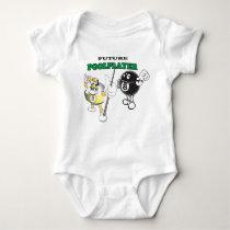 Future Pool Player Baby Bodysuit