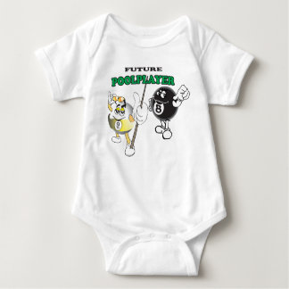 Future Pool Player Baby Bodysuit