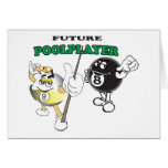 Future Pool Player Greeting Cards