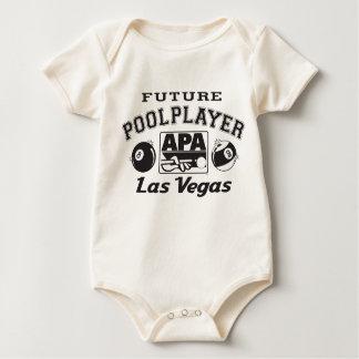 Future Pool Player Las Vegas Bodysuits