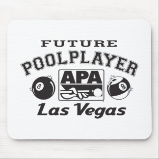 Future Pool Player Las Vegas Mouse Pad