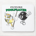 Future Pool Player Mouse Pads