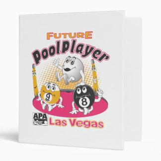 Future Pool Player - Pink Binder