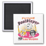 Future Pool Player - Pink Magnets