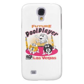 Future Pool Player - Pink Samsung Galaxy S4 Case